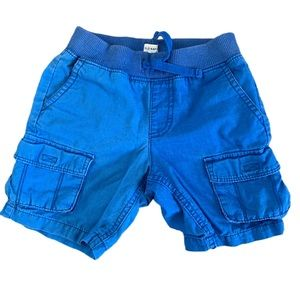 3/$25 Old Navy Boy's Two-Tone Cargo Shorts Size 3T